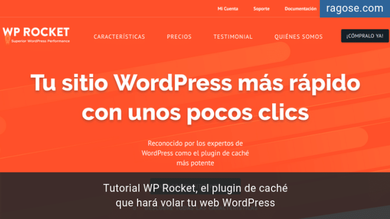 Tutorial WP Rocket