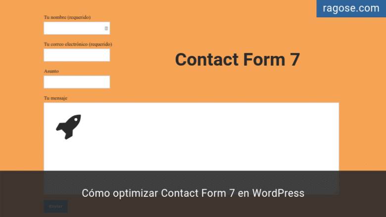 Optimizar Contact Form 7 en WordPress