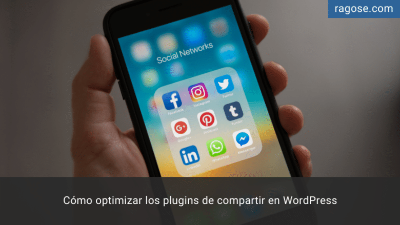 Optimizar plugins compartir WordPress