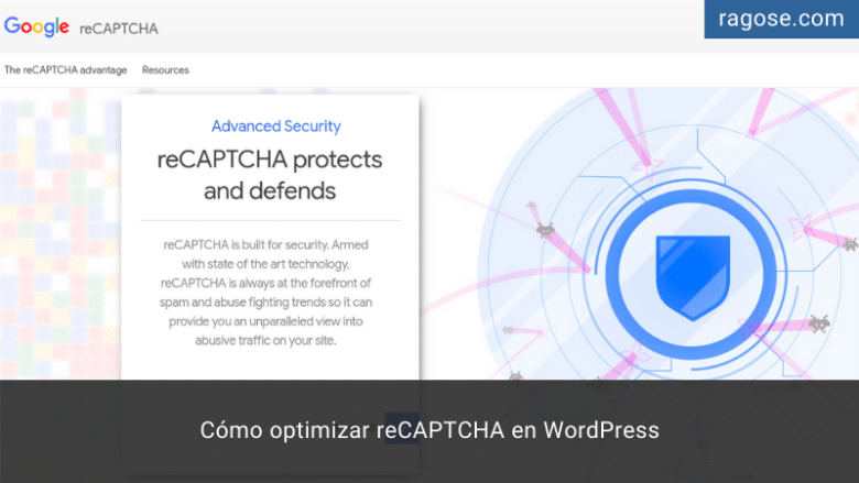Optimizar reCAPTCHA WordPress