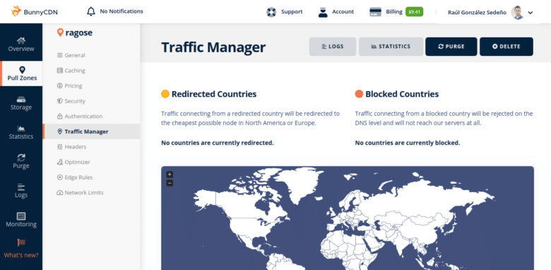 BunnyCDN Traffic Manager