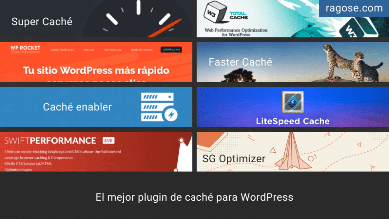 Mejor plugin caché WordPress