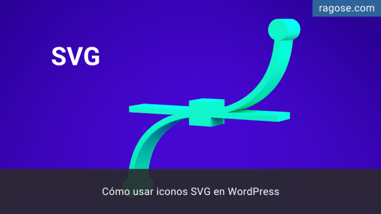 Iconos SVG WordPress
